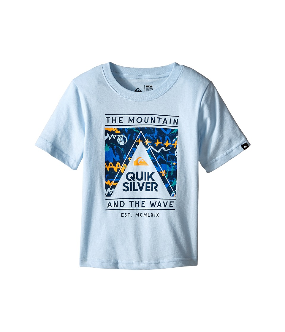 Quiksilver Kids - Wave Core T-Shirt (Toddler/Little Kids) (Angel Falls) Boy