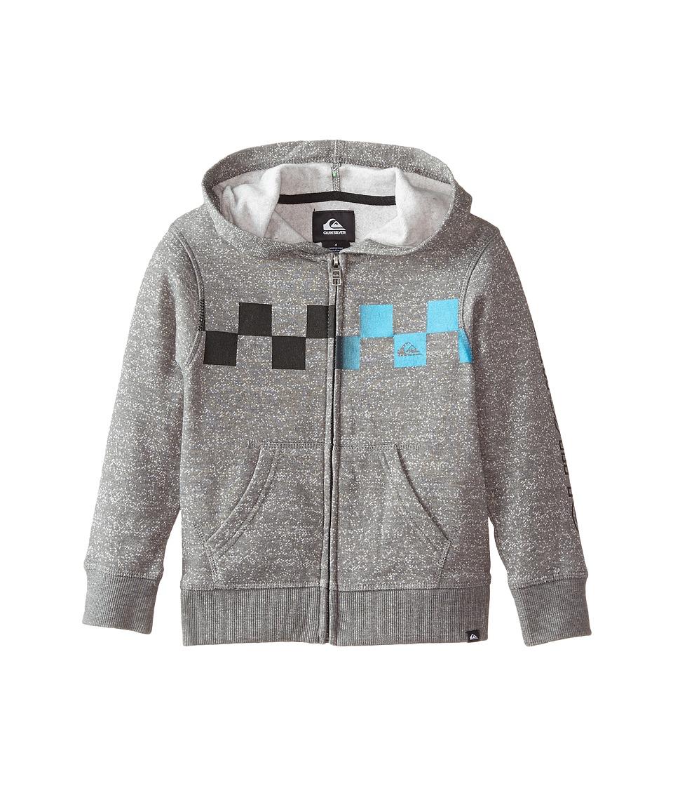 Quiksilver Kids - Checked Out Hoodie (Toddler/Little Kids) (Dark Shadow) Boy's Sweatshirt