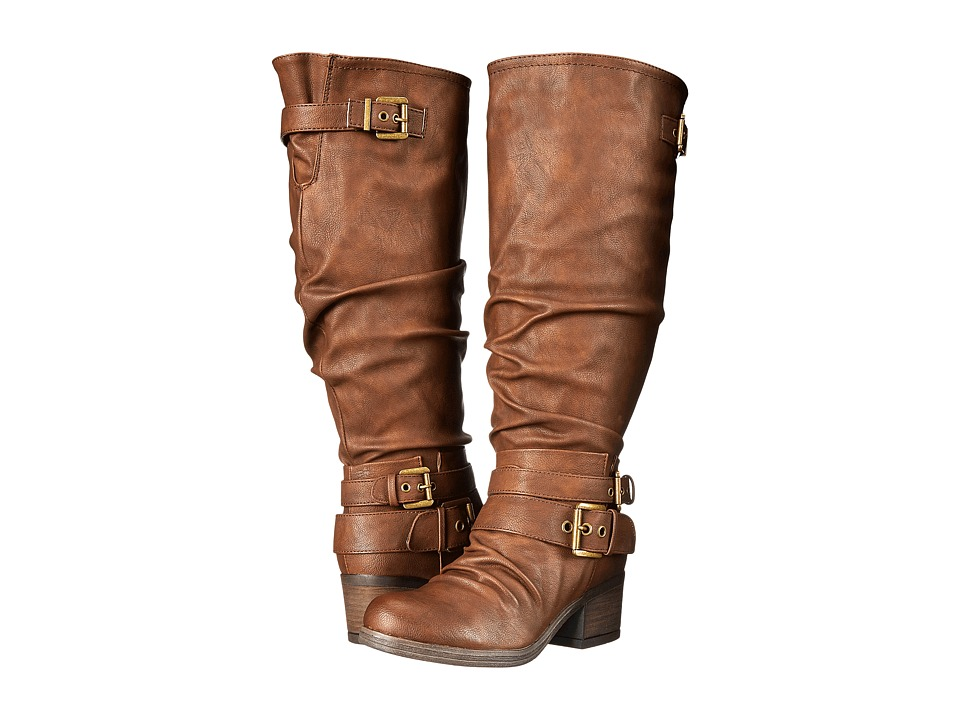 CARLOS by Carlos Santana - Claudia Wide Shaft (Brown) Women's Boots