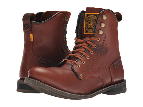 Caterpillar - Orson 7 Boot (Saturn/Russet) Men's Work Boots
