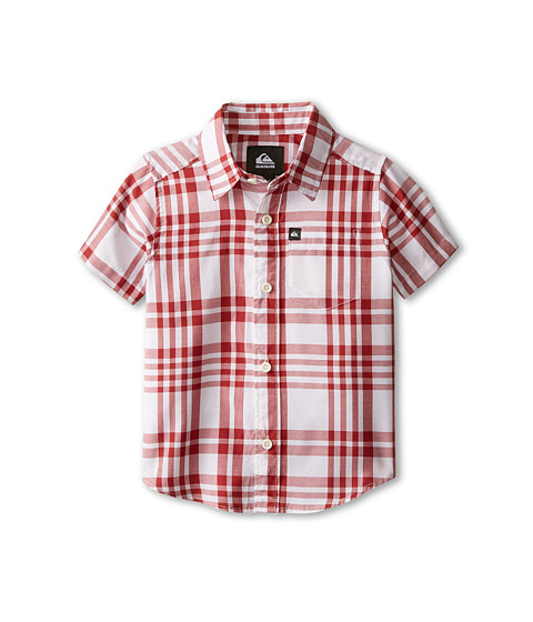 Quiksilver Kids - Pat Pack Shirt (Toddler/Little Kids) (Rosewood) Boy