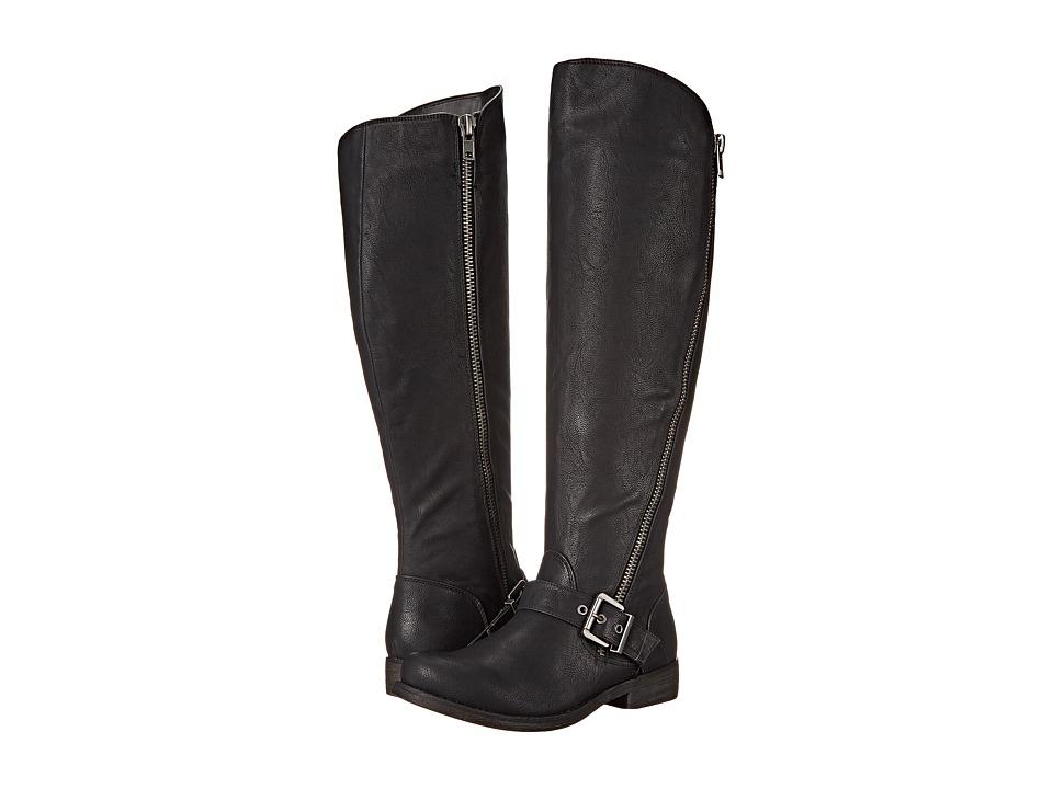 CARLOS by Carlos Santana - Gramercy Wide Shaft (Black) Women's Boots