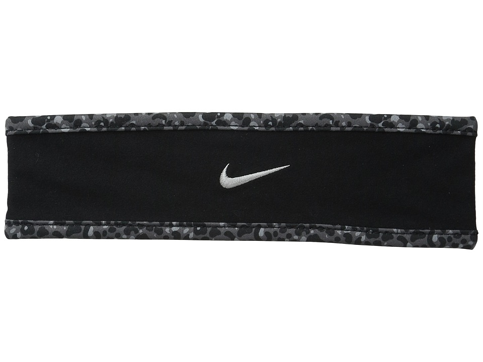 Nike - Run Lotus Headband (Black/Dark Grey/Reflective Silver) Headband