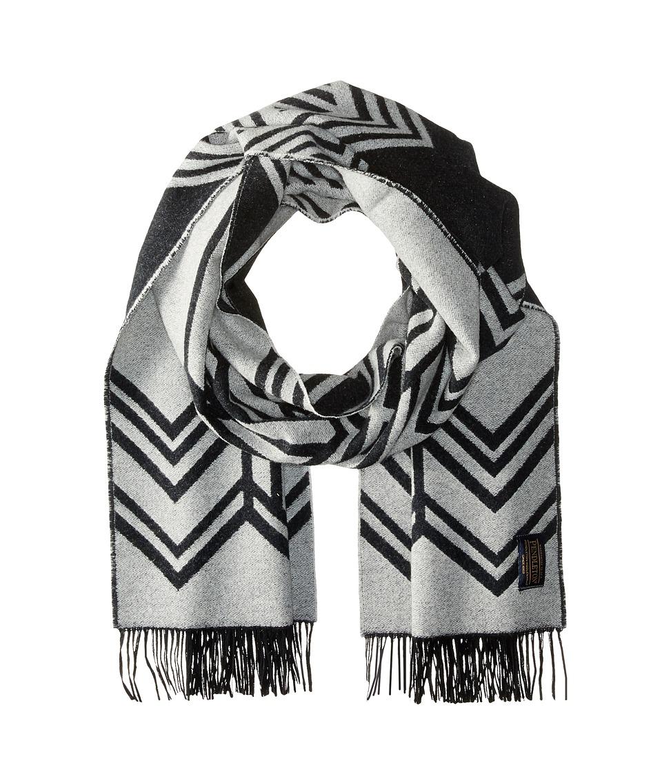 Pendleton - Woven Shawl (Skywalkers Black/White) Scarves