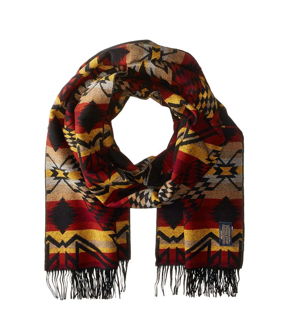 Pendleton - Woven Shawl (Thunder/Earthquake Black) Scarves