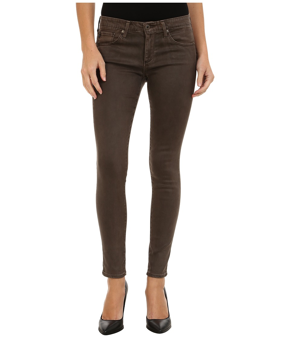 AG Adriano Goldschmied - The Leggings Ankle in Vintage Leatherette Bitter Chocolate (Vintage Leatherette Bitter Chocolate) Women's Jeans