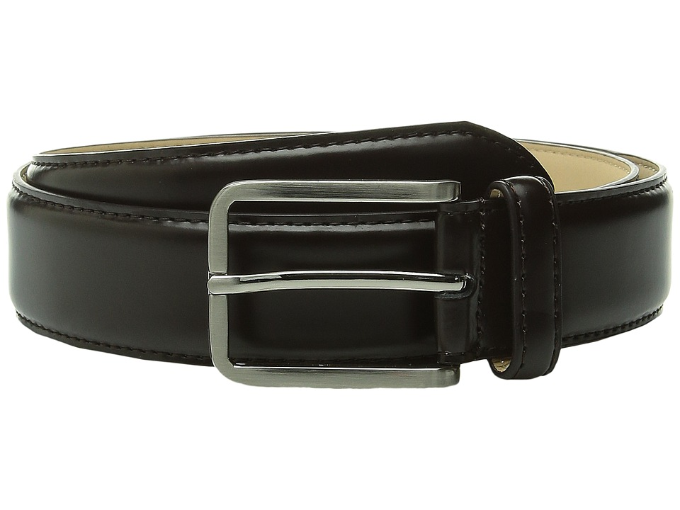 Stacy Adams - 32mm Classic Dress - Leather Top/Microfiber Lining (Brown) Men's Belts