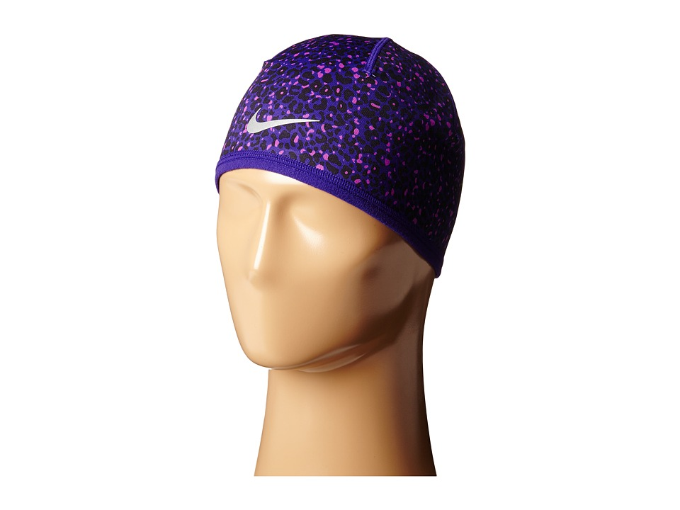 Nike - Run Lotus Beanie (Court Purple/Black/Reflective Silver) Beanies