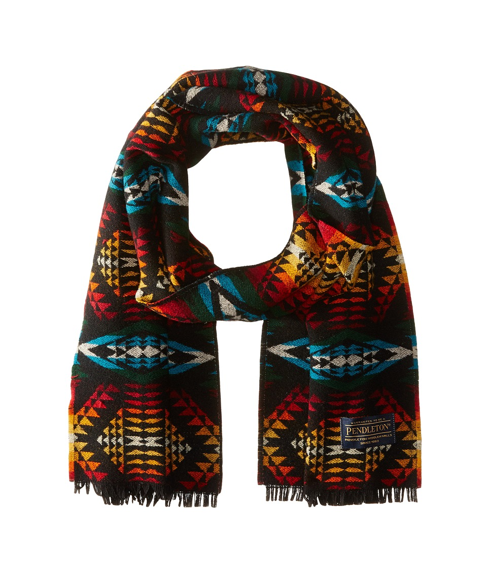 Pendleton - Jaquard Muffler (Diamond River Multi) Scarves