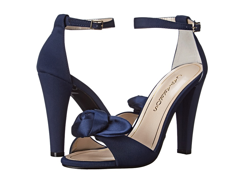Caparros Wonderful (Navy Faille) High Heels