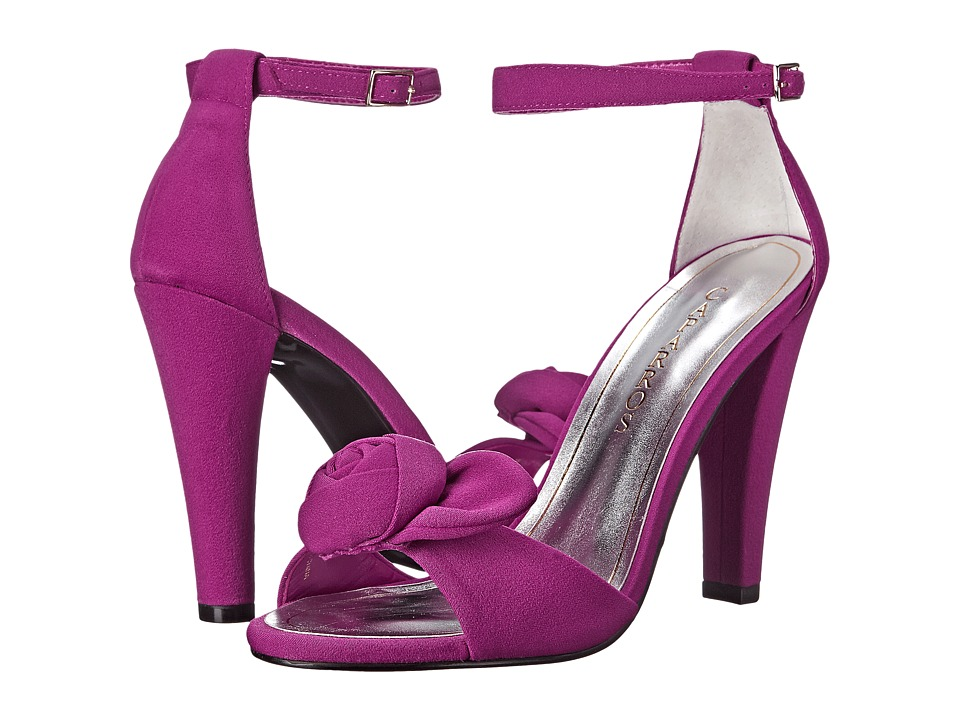 Caparros Wonderful (Fuchsia Crepe Suede) High Heels