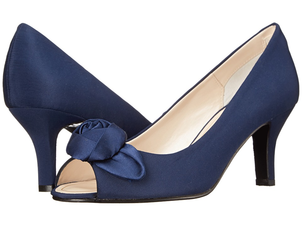 Caparros Willamena (Navy Faille) High Heels