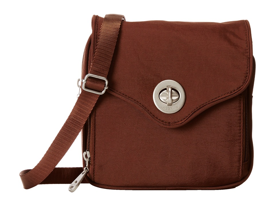 Baggallini - Kensington (Mocha) Handbags