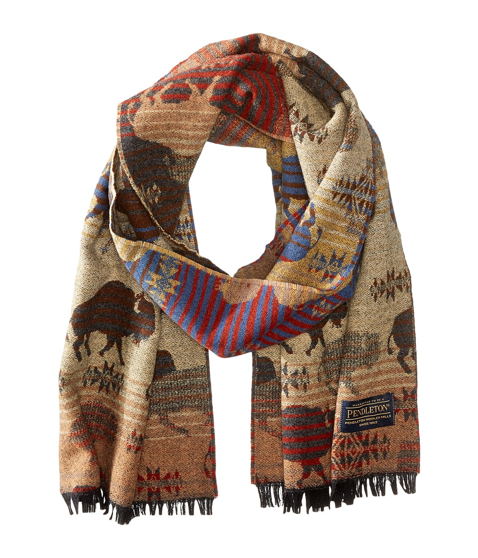 Pendleton - Jaquard Muffler (Land Of The Buffalo) Scarves