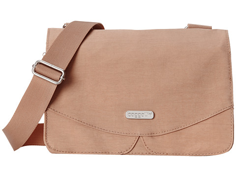 Baggallini - Venture Crossbody (Sand) Cross Body Handbags