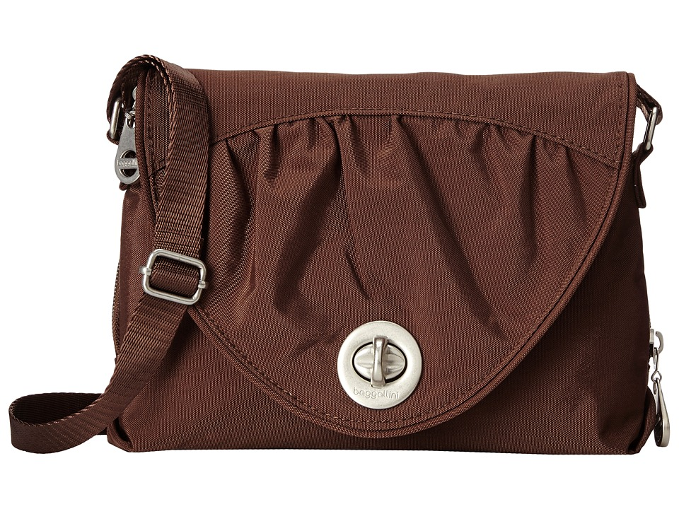 Baggallini - Nassau Crossbody (Mocha) Cross Body Handbags