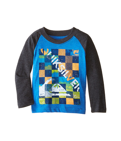 Quiksilver Kids - Checky T-Shirt (Infant) (Victoria Blue Heather) Boy
