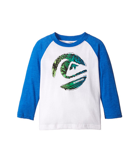 Quiksilver Kids - Ripped Circle T-Shirt (Toddler) (White) Boy's T Shirt