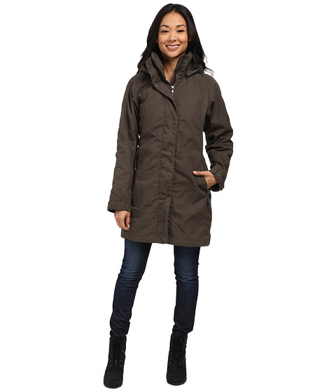 Fj llr ven - Una Jacket (Mountain Grey) Women's Coat