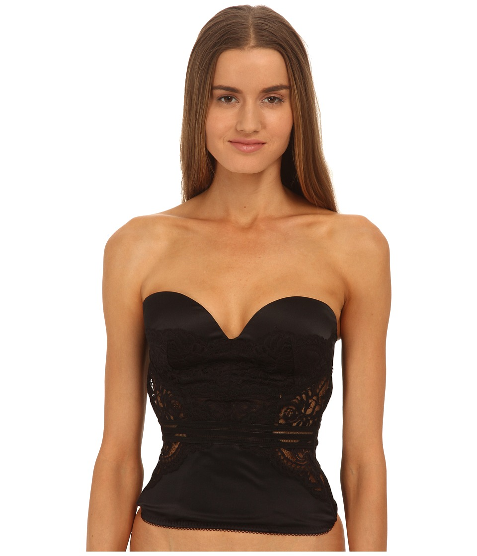 Stella McCartney - Isabel Floating Corset Corsetry (Black) Women's Pajama