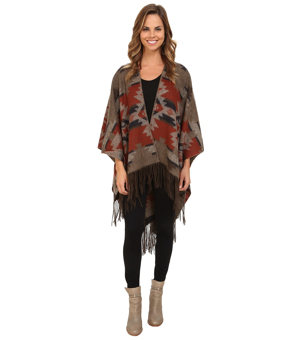 Pendleton - Woven Blanket Shawl (Mountain Majesty) Women's Sweater