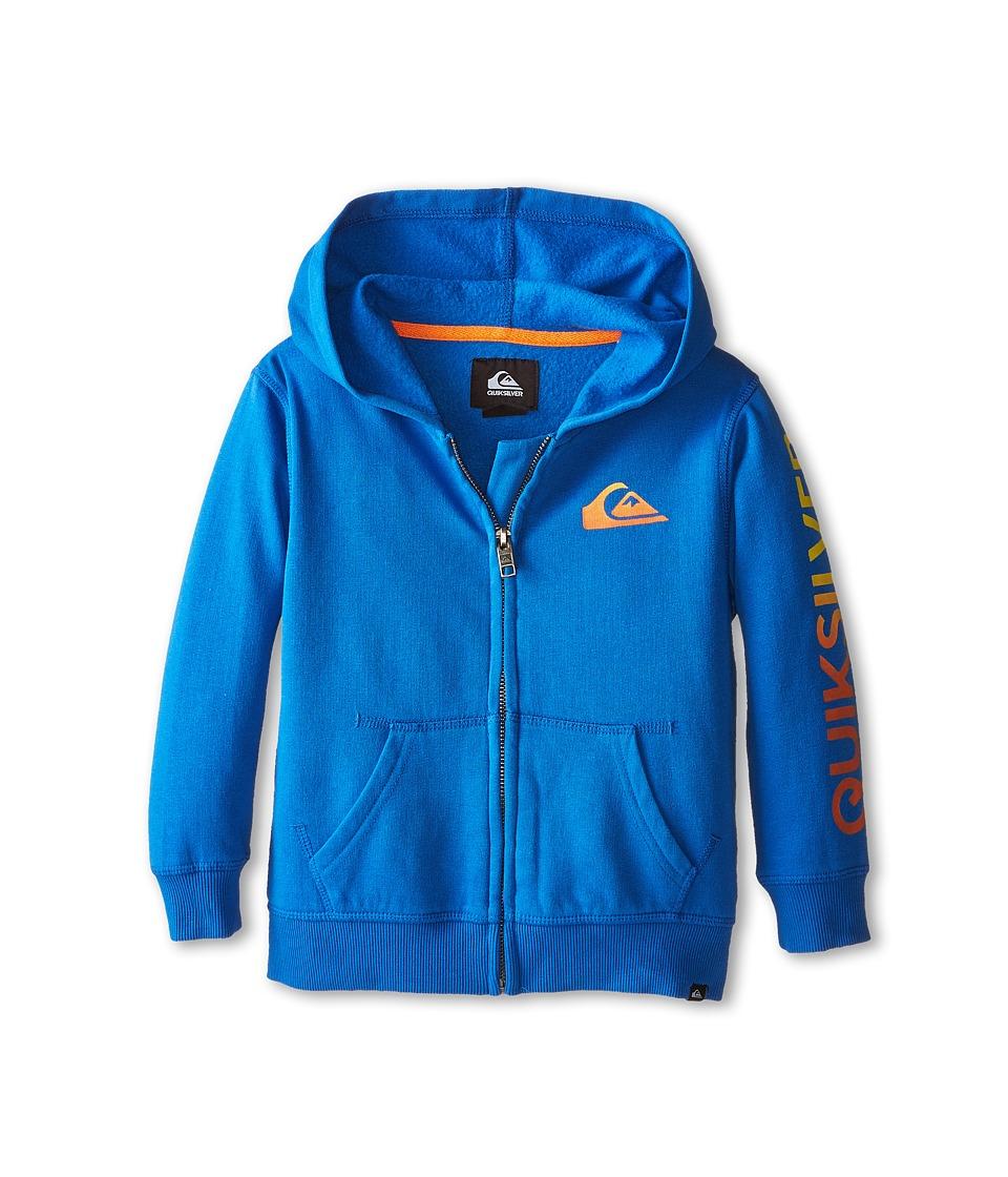 Quiksilver Kids - Everyday Blend Hoodie (Toddler) (Victoria Blue) Boy's Sweatshirt