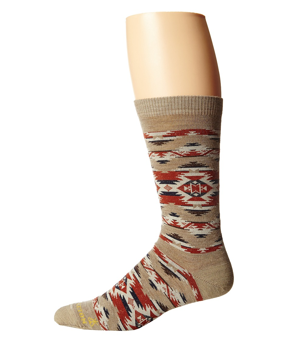 Pendleton - Mountain Majesty Crew (Fawn) Crew Cut Socks Shoes