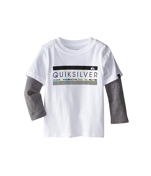 Quiksilver Kids - In The Zone Top (Toddler) (White) Boy's Clothing