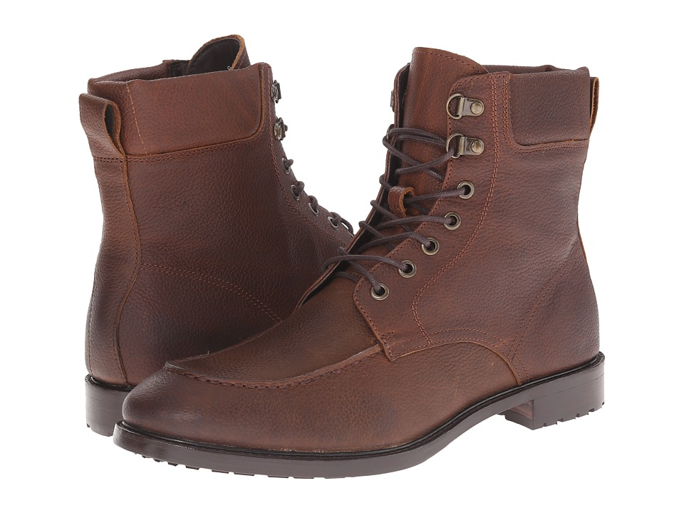 Gordon Rush Owen (Brown Pebble Grain) Men