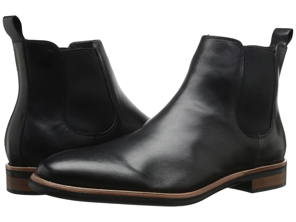 Gordon Rush - Wallis (Black Leather) Men's Pull-on Boots
