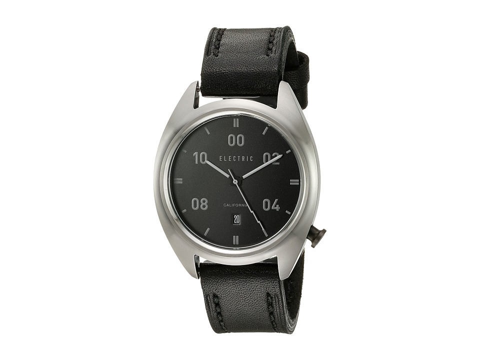 Electric Eyewear - OW01 Leather (Black) Analog Watches