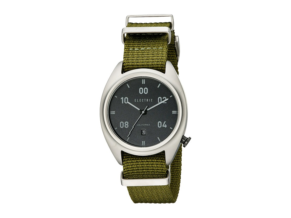 Electric Eyewear - OW01 Nato (Black/Olive) Analog Watches