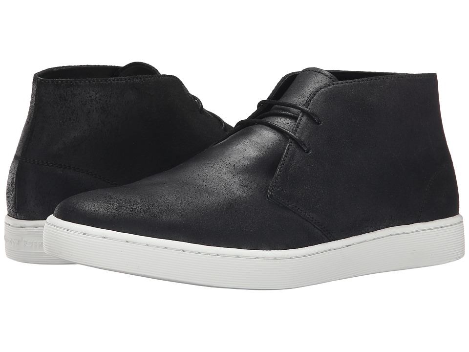 Gordon Rush Liverpool (Black Waxy Suede) Men
