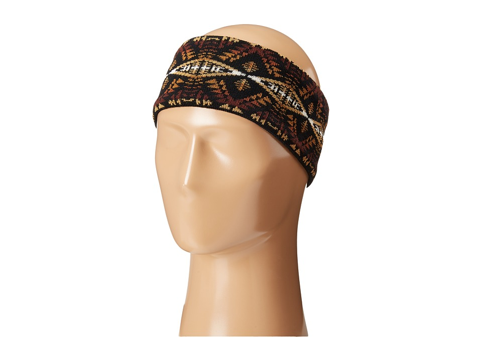 Pendleton - Fleece Lined Headband (Diamond River Black) Knit Hats