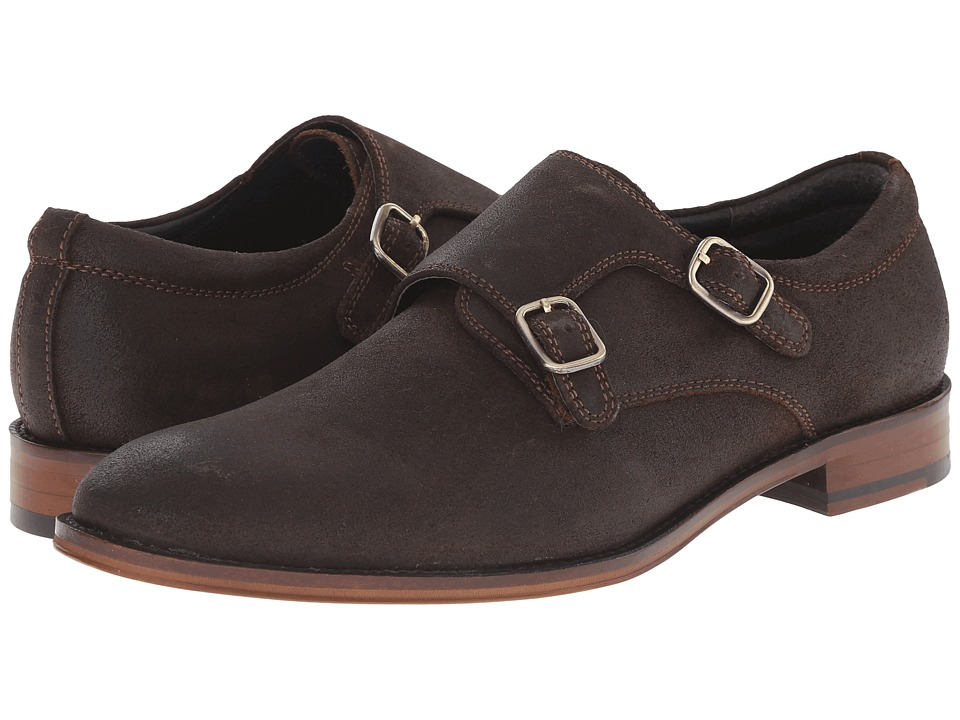 RUSH by Gordon Rush Allan (Dark Brown Waxy Suede) Men