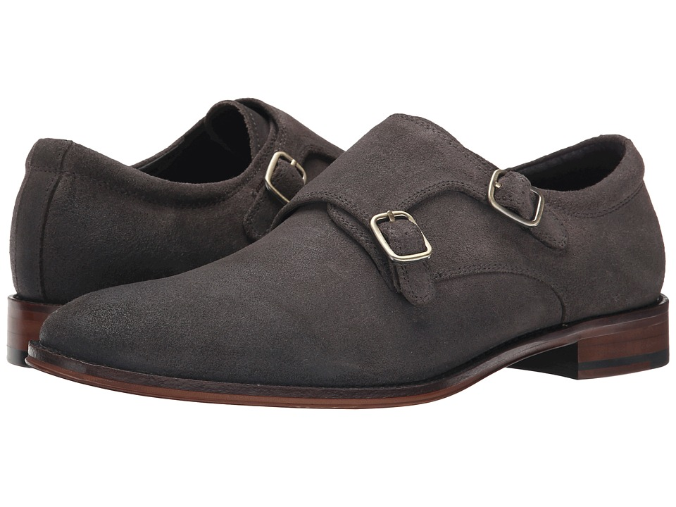 RUSH by Gordon Rush Allan (Grey Waxy Suede) Men