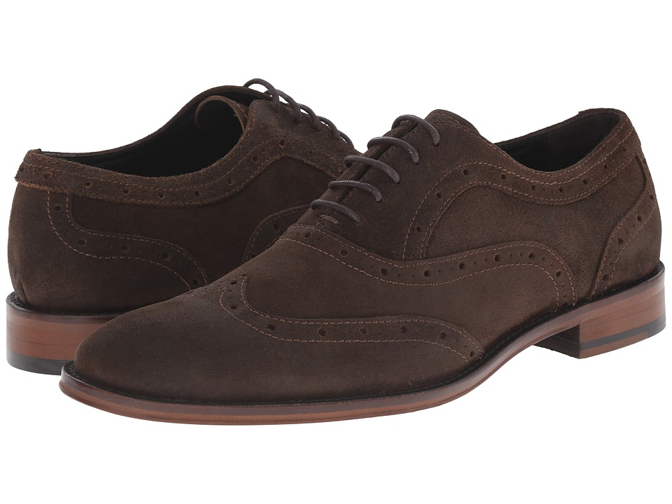RUSH by Gordon Rush Ford (Dark Brown Waxy Suede) Men