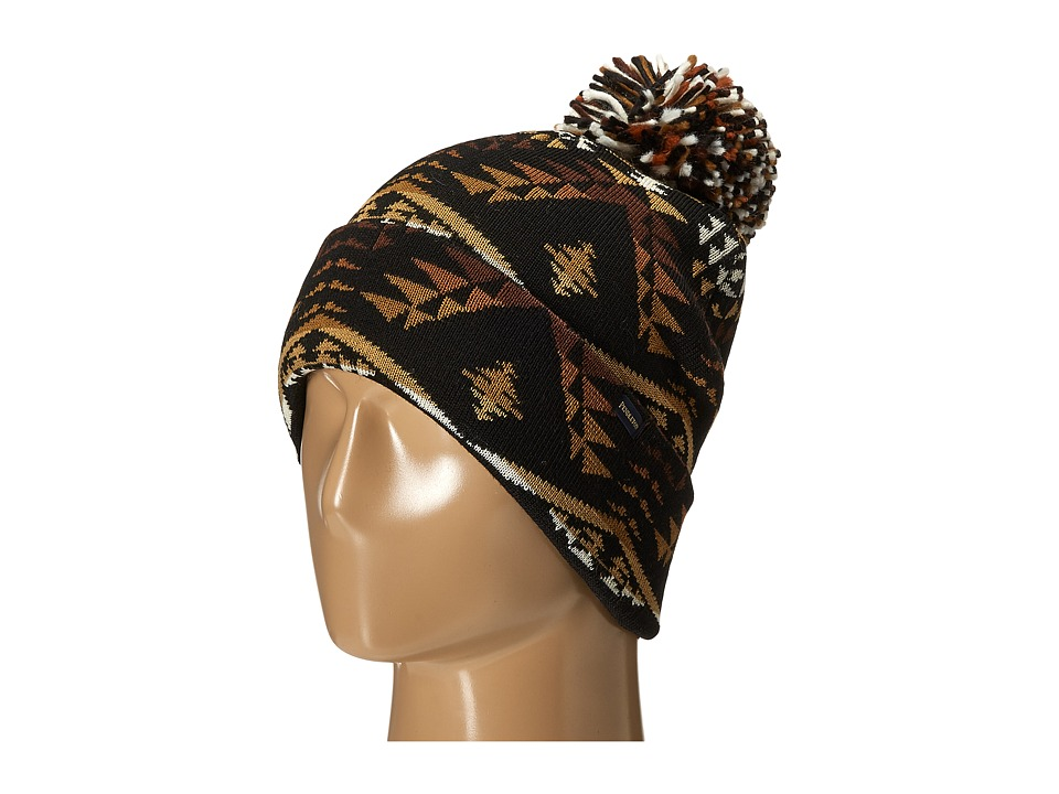 Pendleton - Pom Pom Beanie (Diamond River Black) Beanies