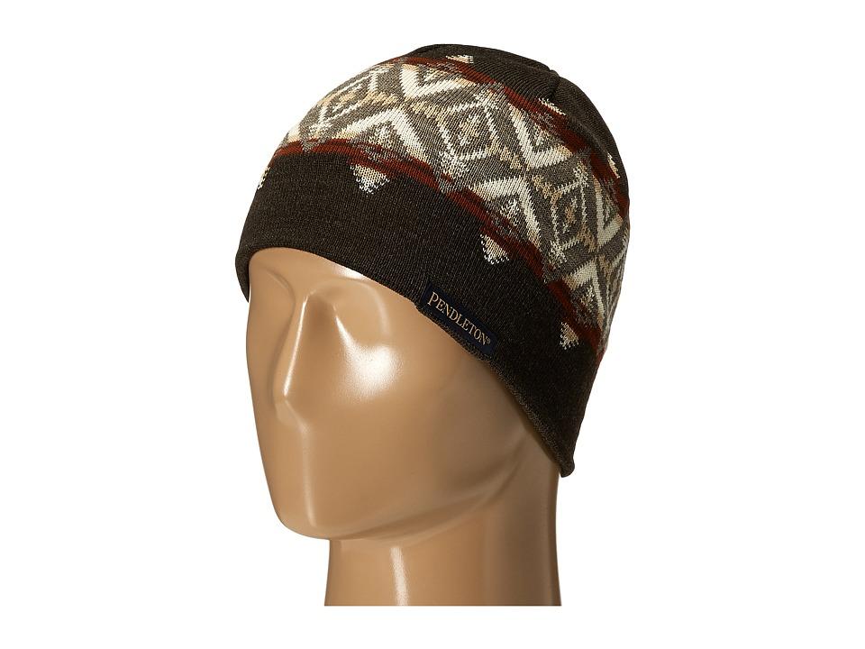 Pendleton - Knit Watch Cap (Pacific Crest Brown) Caps