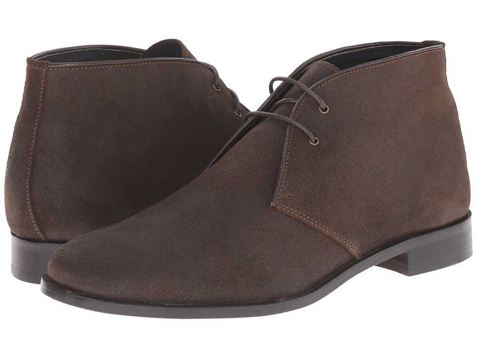 RUSH by Gordon Rush Tinsman (Dark Brown Waxy Suede) Men