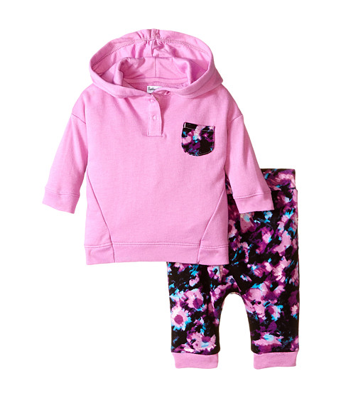 Splendid Littles - Abstract Floral Pants Set (Infant) (Lilac) Girl's Active Sets
