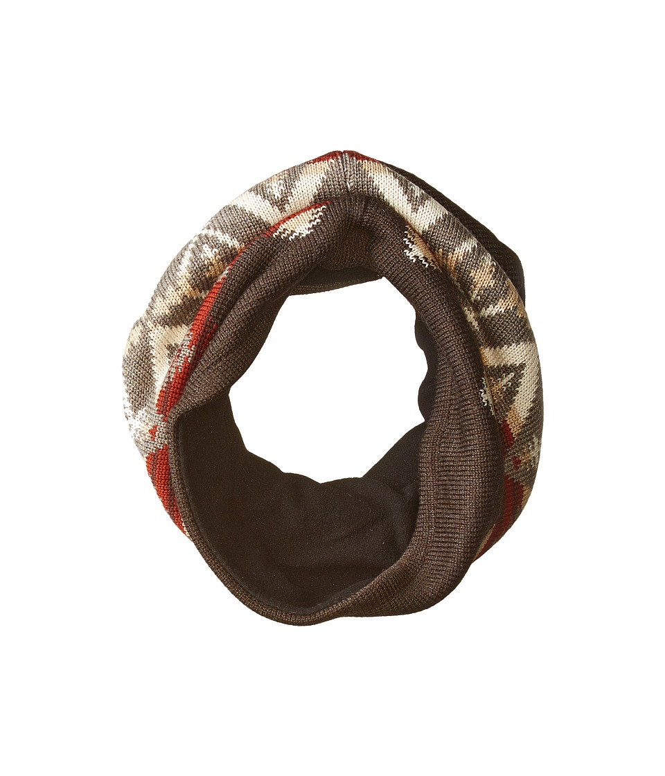 Pendleton - Neckwarmer (Pacific Crest Brown) Scarves