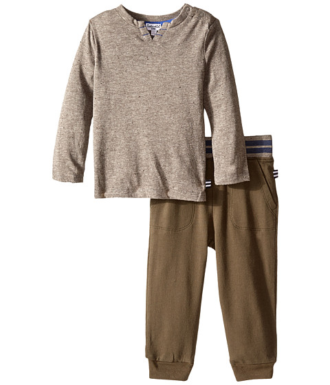 Splendid Littles - Knit Pants Set (Infant) (Dark Grey) Boy's Active Sets