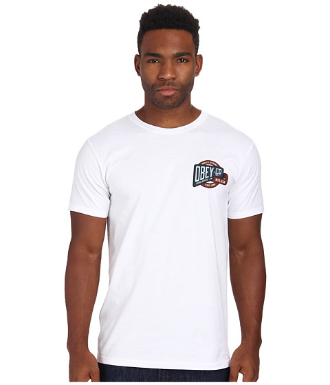 Obey - Co. Worldwide Tee (White) Men