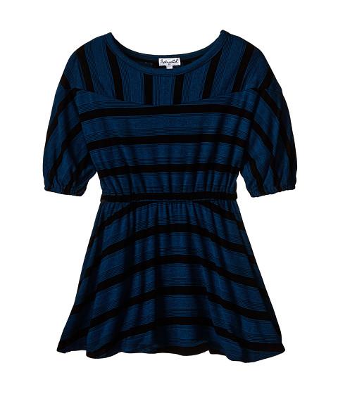 Splendid Littles - Fashion Stripe Dress (Toddler) (Teal) Girl