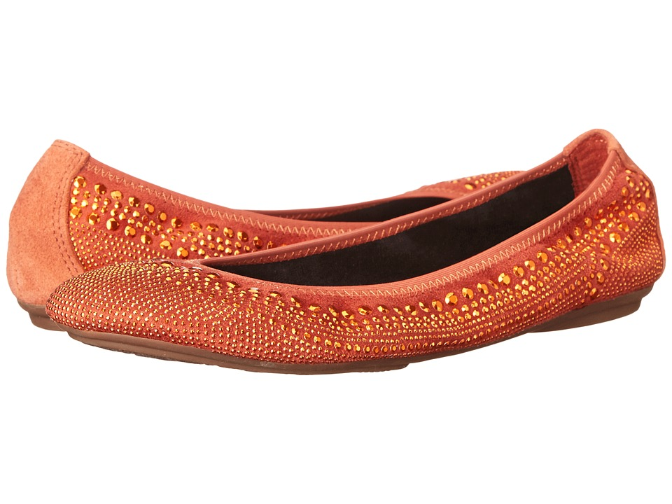 Hush Puppies - Chaste Ballet (Orange Suede) Women