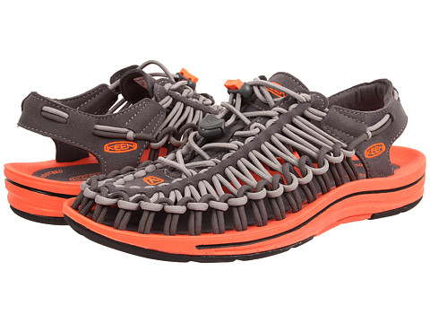 Keen - Uneek (Magnet/Drizzle) Women's Toe Open Shoes