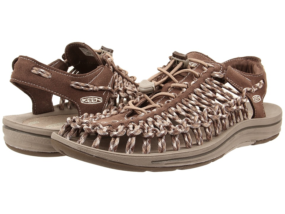 Keen - Uneek (Cascade Brown/Brindle) Men's Shoes
