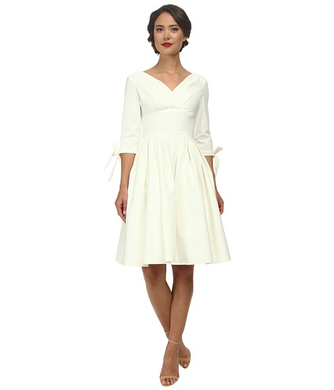 Unique Vintage - Diana Swing Dress (Ivory) Women