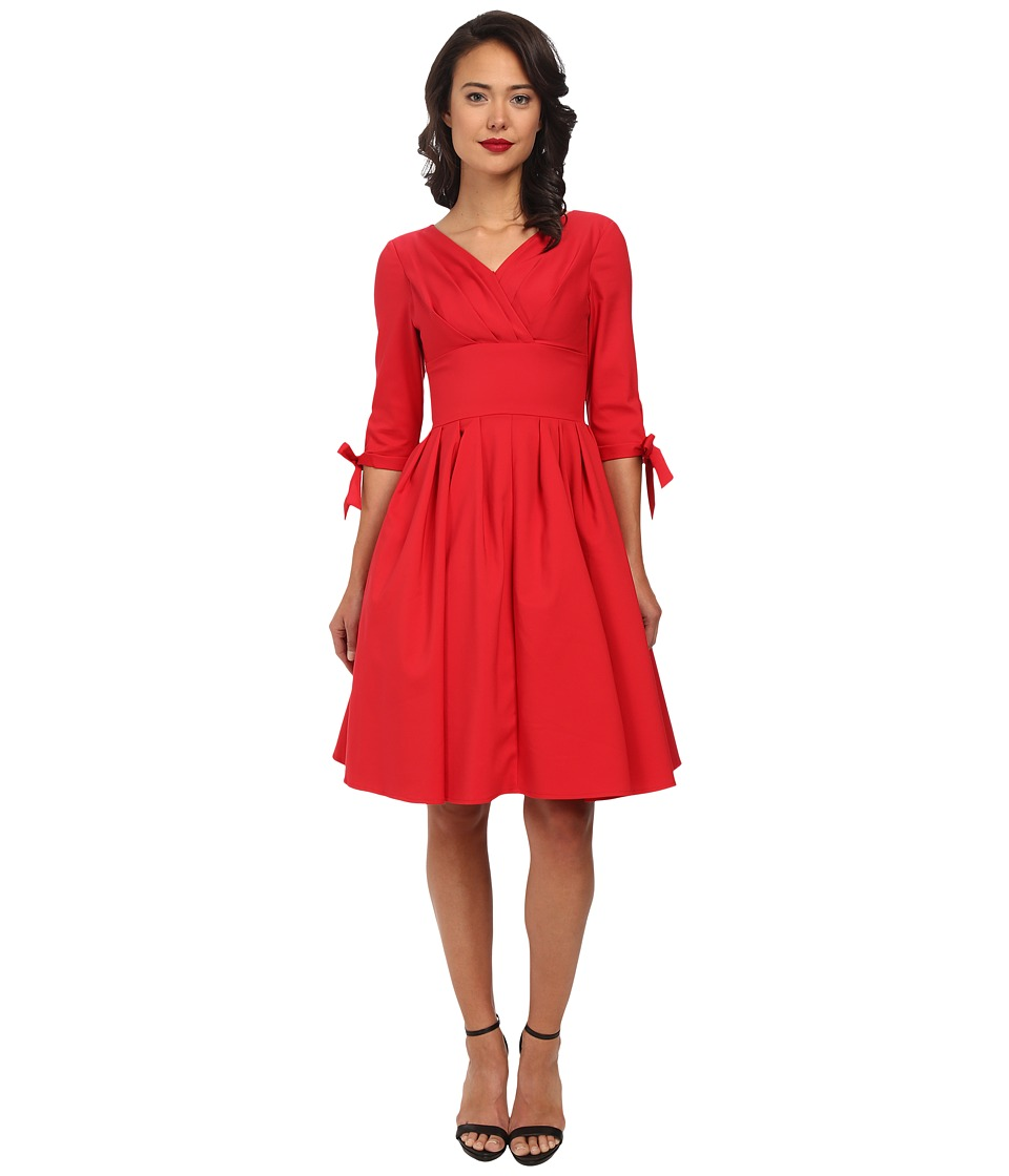 Unique Vintage - Diana Swing Dress (Red) Women's Dress